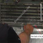 Bộ phận xả đá tủ lạnh, chức năng và cấu tạo chung