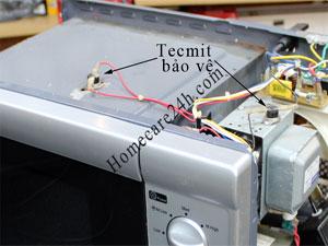 Rơ le nhiệt lò vi sóng, Tecmit bảo vệ, tìm hiểu nguyên lý và cách thay thế