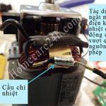 Cầu chì nhiệt, bảo vệ thiết bị điện khi quá nhiệt và quá tải