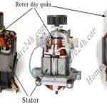 Tìm hiểu về rotor dây quấn, cấu tạo và phạm vi sử dụng