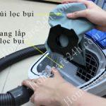 Túi lọc bụi máy hút bụi sử dụng trong gia đình, một số lưu ý cần biết