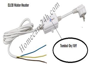 Cục chống giật bình nóng lạnh, tác dụng và thay thế