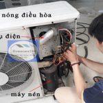 Tụ điện điều hòa, chức năng tụ điện với máy nén, hỏng hóc và thay thế