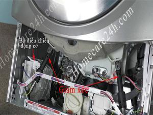 Tìm hiểu về giảm xóc máy giặt, cấu tạo, chức năng và trục trặc gặp phải
