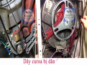Dây curoa máy giặt bị dãn, bạn có thể tự kiểm tra và sửa chữa tại nhà