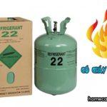 Gas điều hòa có cháy không