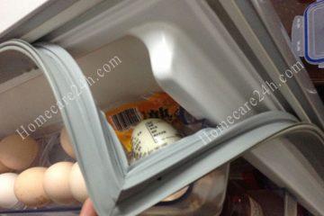 Cửa tủ lạnh không dính, đến lúc người dùng cần tiến hành thay mới