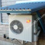 Vì sao nên sử dụng mái che cục nóng điều hòa khi lắp ngoài trời
