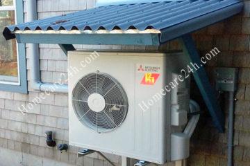 Lắp cục nóng điều hòa trên mái nhà có được không, cần chú ý những gì