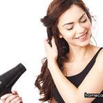 Hướng dẫn sử dụng máy sấy để sấy tóc đúng cách