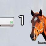 Điều hòa 1 ngựa là gì?