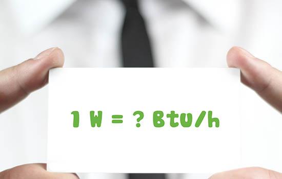Điều hòa 18000BTU công suất bao nhiêu W