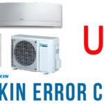 Điều hòa Daikin báo lỗi U0, xem hướng dẫn từ nhà sản xuất