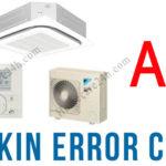 Điều hòa Daikin báo lỗi A3, xem hướng dẫn từ hãng điều hòa Daikin