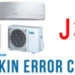 Điều hòa Daikin báo lỗi J3, tìm hiểu hướng dẫn xử lý từ nhà sản xuất