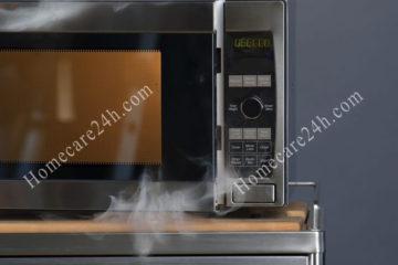 Lò vi sóng bốc khói, các nguyên nhân và lưu ý cách sử dụng phù hợp