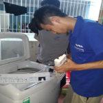 Máy giặt không cấp được nước