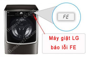 Máy giặt LG báo lỗi FE, hướng dẫn xử lý đúng cách từ nhà sản xuất