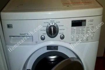 Máy giặt LG không vào điện, kiểm tra theo hướng dẫn từ Homecare24h