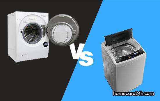 Nên mua máy giặt cửa trước hay máy giặt cửa trên