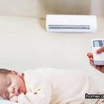 Trẻ sơ sinh có nằm điều hòa được không?