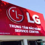 Địa chỉ trung tâm bảo hành thiết bị gia dụng của LG trên toàn quốc