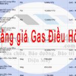 Bảng giá nạp gas điều hòa tham khảo, thay đổi theo từng thời điểm