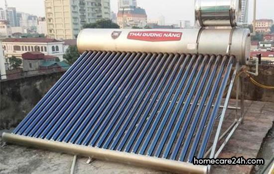 Bình nước nóng năng lượng mặt trời có tốt không
