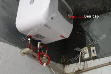 Bình nóng lạnh không lên đèn đỏ, vài nguyên nhân cần kiểm tra