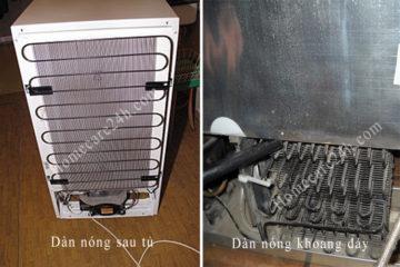 Dàn nóng tủ lạnh ở đâu, bạn đã biết bộ phận này chưa