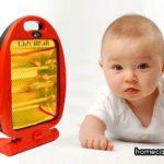 Cách sử dụng đèn sưởi cho trẻ sơ sinh