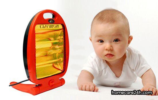 Máy sưởi cho trẻ sơ sinh, mua ở đâu, chọn loại nào thì tốt