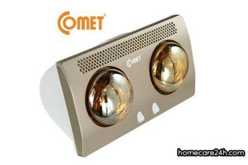 Đèn sưởi nhà tắm Comet có tốt không? Comet là thương hiệu của nước nào