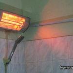 Cách sử dụng đèn sưởi nhà tắm hiệu quả, tiết kiệm điện