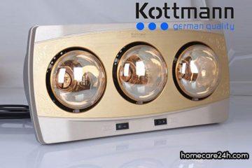 Đèn sưởi nhà tắm Kottmann có tốt không? Có nên mua đèn sưởi Kottmann
