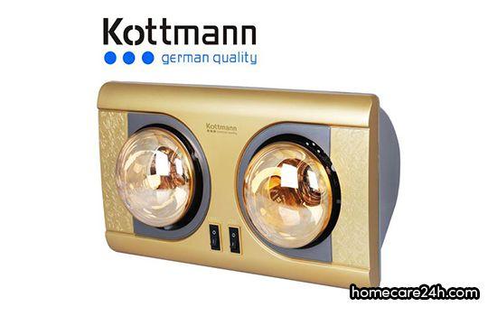 Đèn sưởi nhà tắm Kottmann có tốt không