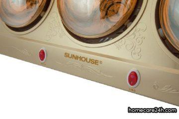 Đèn sưởi nhà tắm Sunhouse có tốt không? Có nên mua không?
