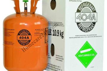Gas tủ đông R404a