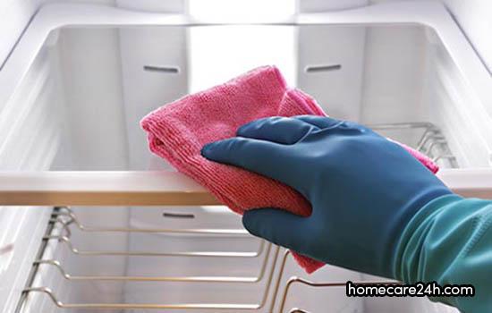 Khử mùi tủ lạnh lâu ngày không dùng