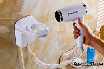 Máy sấy tóc treo tường là gì? Ưu nhược điểm của máy sấy tóc treo tường