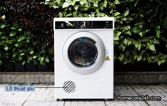 Máy sấy áo quần sử dụng công nghệ thông hơi