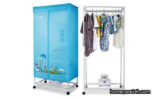 Tủ sấy quần áo có tốn điện không