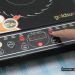 Cách dùng bếp từ - điều chỉnh mức nhiệt độ bằng nút +/ -