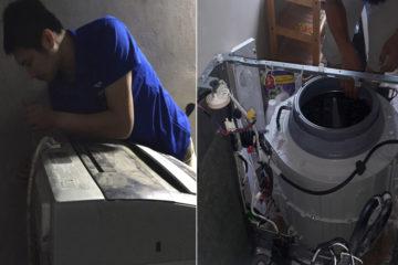 Máy giặt giặt xong vẫn còn nước, tại sao lại xảy ra tình trạng này