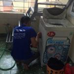 Máy giặt vắt rung mạnh bất thường có nguyên nhân như nào