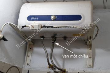 Nước không vào được bình nóng lạnh, nguyên nhân và cách xử lý
