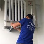 Lắp bộ chuyển hướng gió cục nóng điều hòa bao nhiêu tiền