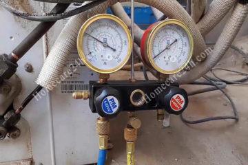 Điều hòa nạp thừa gas có ảnh hưởng gì, dấu hiệu như nào