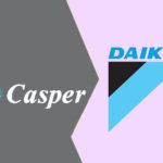 So sánh điều hòa Casper và Daikin