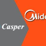 So sánh điều hòa Casper và Midea